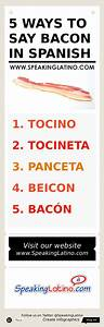 Infographic  5 Ways To Say Bacon In Spanish