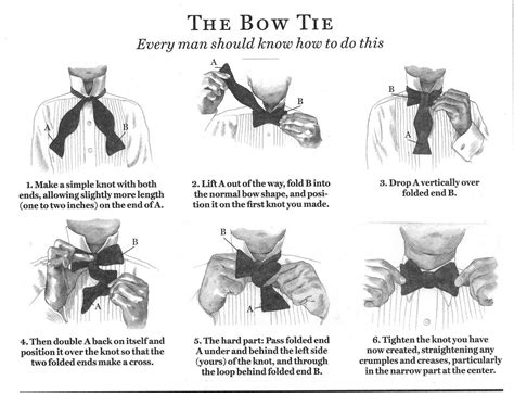 Tie a tie into a bowtie erieairfair how to tie a bow tie simple steps for tying a bow tie ccuart Gallery
