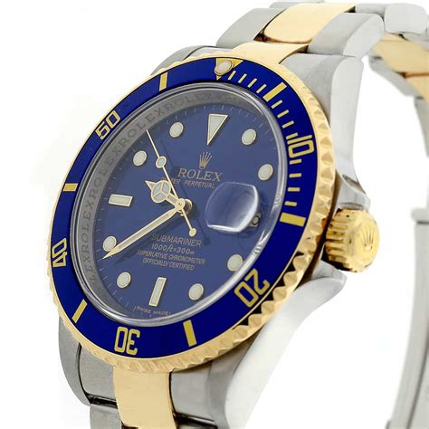Rolex Submariner Date 2-Tone 18K Yellow Gold & Stainless ...
