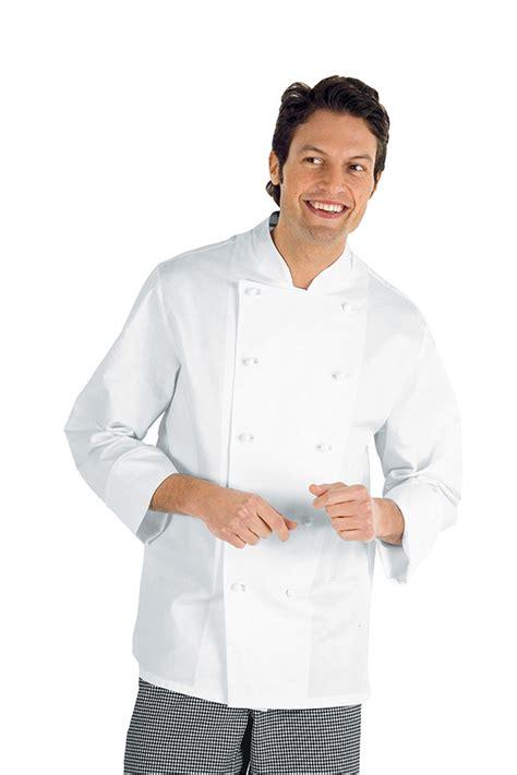 vetement de cuisine discount veste chef cuisinier enrica blanc 100 coton