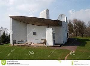 La Chiesa Di Notre Dame Du Haut, Ronchamp Immagini Stock Libere da Diritti Immagine: 12112309