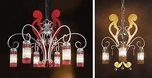 Casa Nova Lampen : kronleuchter aus schmiedeeisen und lackiert antikes silber ~ Michelbontemps.com Haus und Dekorationen