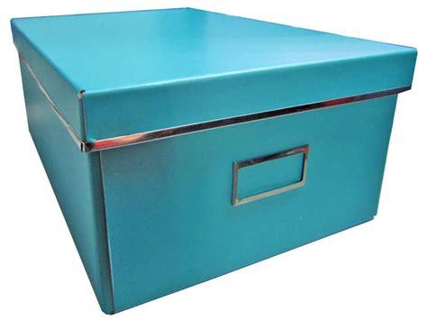 boite de rangement grand mod 232 le card coloris turquoise conforama malinshopper