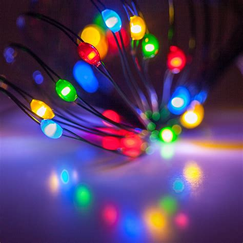 battery operated lights  multicolor battery operated