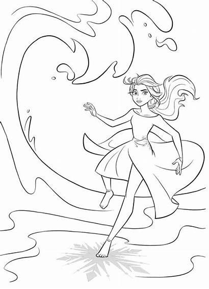 Frozen Elsa Dibujos Coloring Colorear Imprimir Youloveit