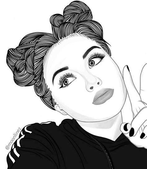 fille dessin noir et blanc dessin m dessin fille swag dessin et dessin noir et blanc