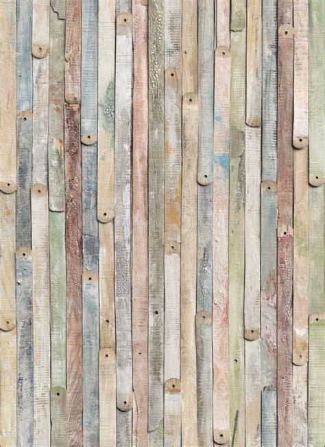 vintage wood photo wallpaper wall mural  wooden wall