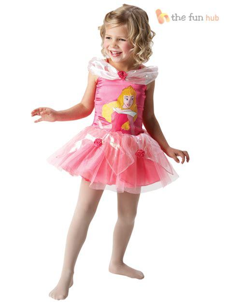 Disney Princess Ballerina Tutu Girls Fancy Dress Costume Toddler Baby Outfit | eBay