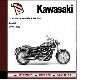Kawasaki Vulcan 1600 Mean Streak Workshop Service Manual