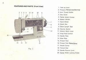 Dressmaker Model 2402 Sewing Machine Manual