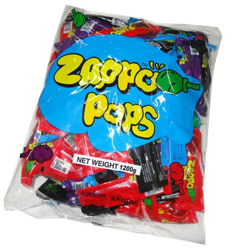 zappo pops lolly drops 1200g bag discontinued browse professors confectionery 1kg