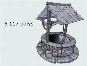 medieval water   model obj ds fbx blend dae