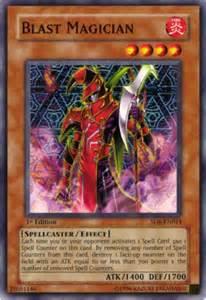 blast magician yugioh structure deck spellcaster s