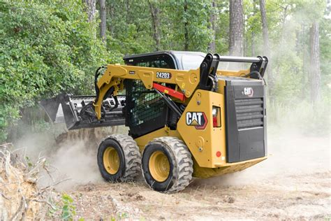 caterpillar upgrades skid steers ctls   series construction equipment