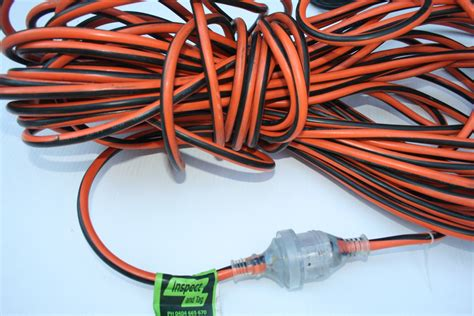 Extension Leads - Inspect & Tag