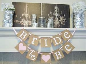 bridal shower bannerbachelorette bridal shower decor With wedding shower banner ideas
