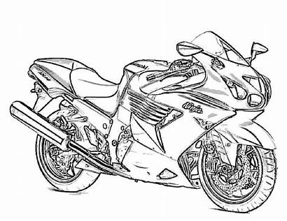 Pages Coloring Printable Motorcycle Army Adults Adult