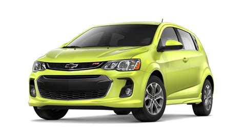 New Shock Color For 2019 Chevy Sonic Is Super Bright Gm