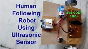 how to make an object following robot human following