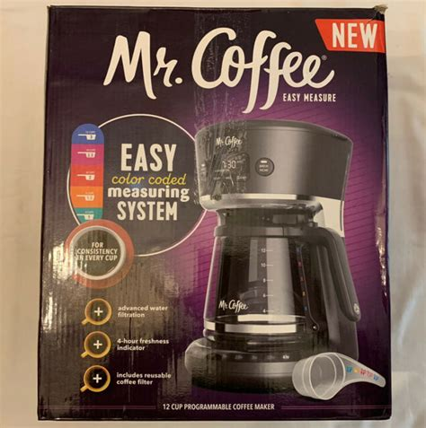 Coffee maker and after i cleaned it i cannot reset the clock. Mr. Coffee Easy Measure 12 Cup Programmable Coffee Maker - Black | eBay