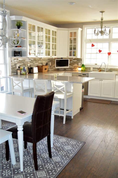 Farmhouse Kitchen Makeover Using Ikea Cabinets  Kitchen