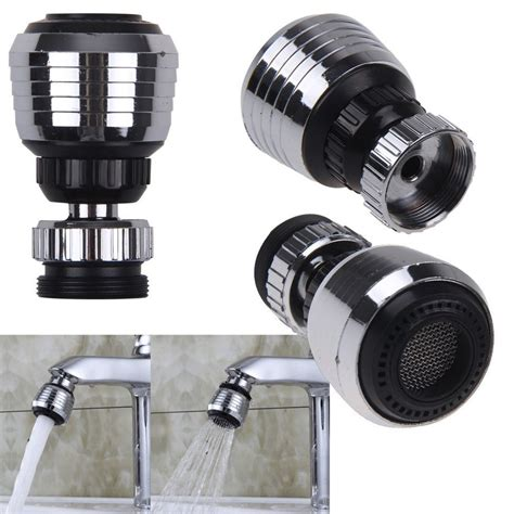 aerator kitchen faucet swivel spray steam aerator faucet thread tap water