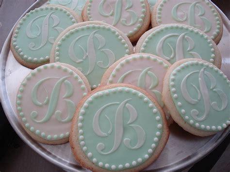 monogram wedding cookies google search wedding pinterest