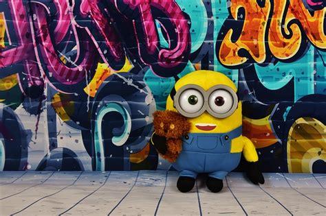 Abjad Grafiti Minion : Graffiti Colorful Minion · Free Photo On Pixabay