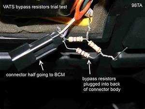 Vats Resistor Wiring Help