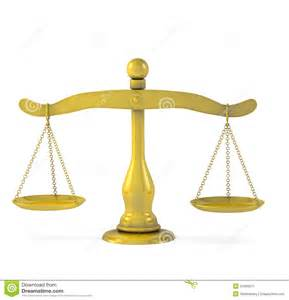 Gold Justice Scales