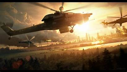 Action War Military Helicopter Homefront 4k Wallpapers