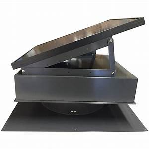 Remington Solar Attic Fan 25 Watt Black  U2013 Remington Solar