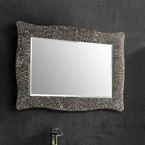 Cadre 70 X 100 : alexandra miroir salle de bain 98x70 cm cadre bronze ~ Dailycaller-alerts.com Idées de Décoration