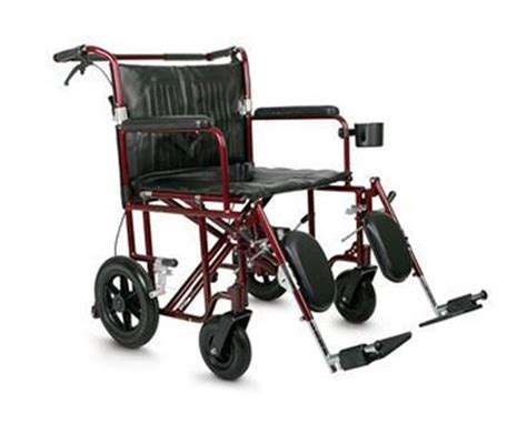 Bariatric Transport Chair 24 Seat by Medline Mds808200bar Excel Wide 22 Quot Heavy Duty