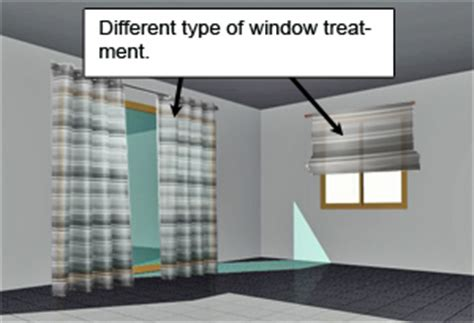 how to match different types of window treatment in the