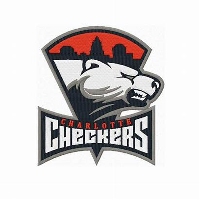 Checkers Charlotte Embroidery Instant