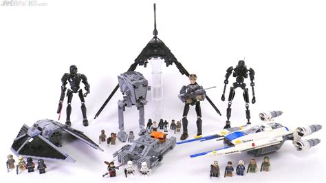 lego star wars rogue  wave  sets  youtube