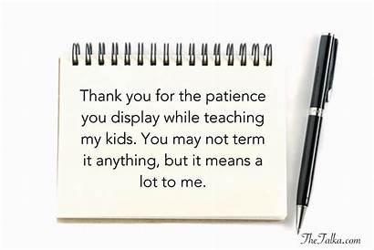 Thank Teacher Messages Parents Students Letter Message