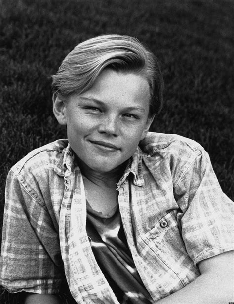 Young Leonardo Dicaprio Looks As If Hes Preparing To Play