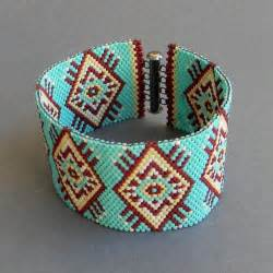 Seed Bead Cuff Bracelet Patterns