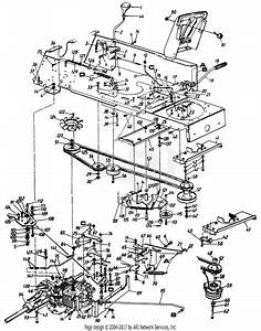 Mtd 1463834p701  1996  Parts Diagram For Drive  Pedal