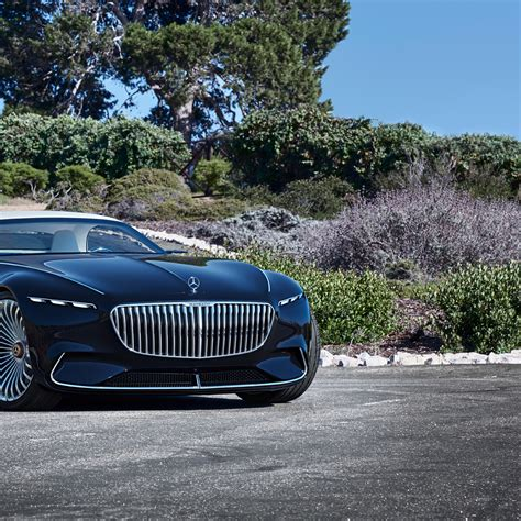 Vision Mercedes Maybach 6 Cabriolet Hd 4k Wallpaper