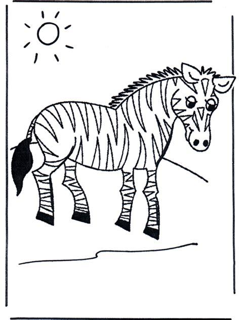 zebra malvorlagen zoo