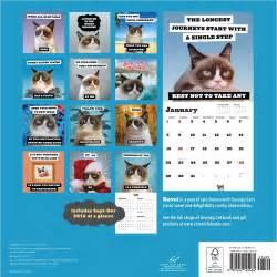 cat calendar grumpy cat 2017 wall calendar 9781452145464 calendars