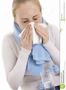 Woman Feeling Sick. Royalty Free Stock Images - Image ...