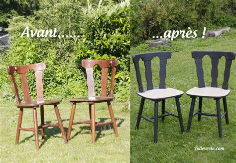 comment repeindre une chaise en bois vernis relooker des chaises en bois