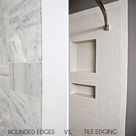 finishing tile edges without bullnose home coming how to tile corners 8933