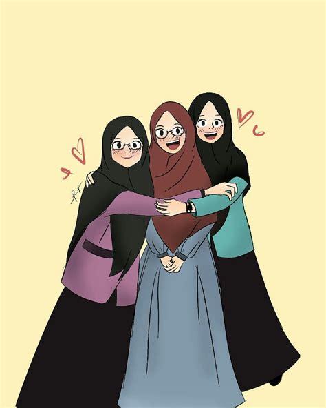 pin oleh ai     muslim seni islamis animasi