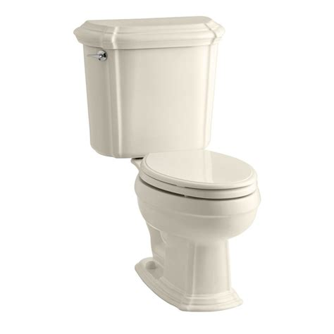 Kohler Bathroom Commodes kohler almond in elongated toilet at lowes
