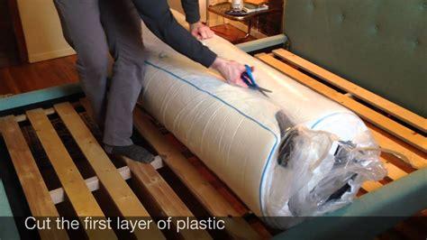 mycloud mattress unboxing youtube